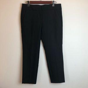 New Loft cropped ankle black dress pants size 6P